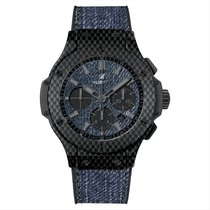 Hublot 301.QX.2740.NR.JEANS Big Bang Jeans Chrono Carbon Fiber