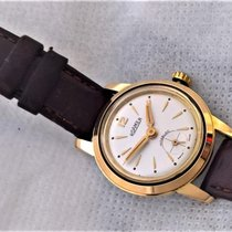Roamer with golden bezel, vintage  with Box and  serviced
