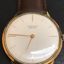 荣汉斯 MEISTER Manual SERVICED Gold  White/Champagne Dial Vintage