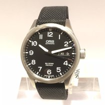Oris Big Crown ProPilot Day Date Stal 45mm Czarny Arabskie