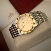 Omega Constellation Quartz Battery men's vintage gold watch