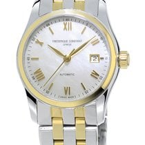 Frederique Constant Classics Index Steel Mother of pearl United States of America, New York, Brooklyn