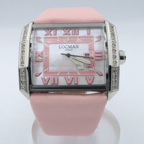Locman 32mm Quartz pre-owned Otto Mother of pearl