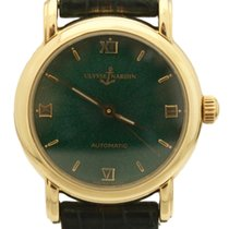 Ulysse Nardin Yellow gold Automatic Green 32mm pre-owned San Marco