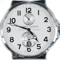 Ulysse Nardin Steel 41mm Automatic 263-66 pre-owned