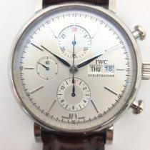 IWC Portofino Chronograph Сталь 42mm Cеребро