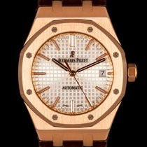 Audemars Piguet Royal Oak Selfwinding Rose gold 37mm Silver United Kingdom, London