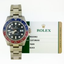 Rolex GMT-Master II 116719BLRO pre-owned