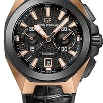 Girard Perregaux Chrono Hawk Or rose 44mm Noir