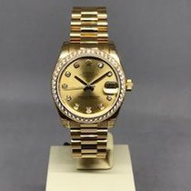 Rolex Datejust 178288 New Yellow gold 31mm Automatic