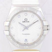 Omega Constellation Quartz Acero 35mm Plata Sin cifras