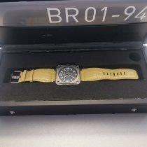 Bell & Ross BR 01-94 Chronographe Titanium 46mm Grijs Arabisch