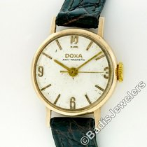 Doxa Rose gold Manual winding Grey Arabic numerals 21.5mm pre-owned