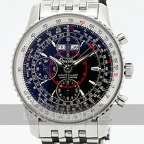 Breitling Montbrillant Datora Steel 42mm Black