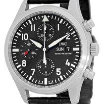 "IWC ""Classic Pilot"" Automatic Chronograph Strapwatch."