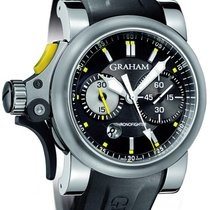 Graham Chronofighter R.A.C. new 2011 Automatic Chronograph Watch with original box 2TRAS.B01A
