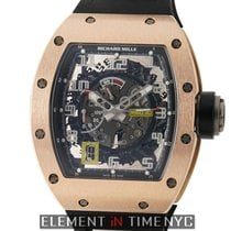 Richard Mille 18k Rose Gold RM030 Automatic Declutchable Rotor