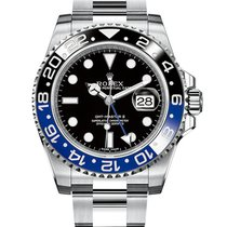 Rolex GMT Master ii Black and Blue Stainless Steel | 116710...