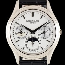 Patek Philippe Perpetual Calendar White gold 36mm Silver United Kingdom, London