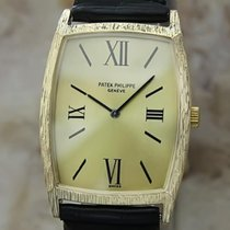 Patek Philippe Swiss Made 18k Solid Gold Luxury Dress Watch...