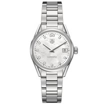 TAG Heuer Carrera Lady Staal 32mm Parelmoer