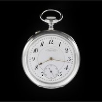 A. Lange & Söhne Silver Manual winding White Arabic numerals 40mm pre-owned