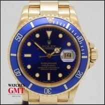 Rolex Submariner Date Gold Purple Dial