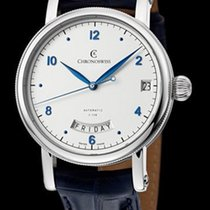 Chronoswiss Sirius Steel 40mm Silver (solid)