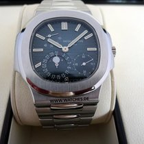 Patek Philippe Nautilus Moonphase Steel Blue Dial - 5712/1A-001