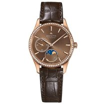 Zenith Elite Ultra Thin Rose gold 33mm Brown United States of America, Pennsylvania, Holland