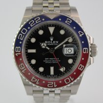 "Rolex GMT-Master ""Pepsi"" 126710 BLRO  LC100 Box, Papiere"