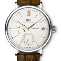 IWC Portofino Hand-Wound Steel 45mm Silver No numerals United States of America, Iowa
