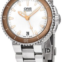 Oris Aquis Date new Automatic Watch with original box 73376524356MB