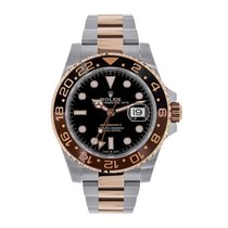 Rolex GMT Master II Everose Gold &  Steel Watch 126711CHNR