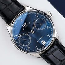 IWC Portuguese Automatic Steel 40mm Blue