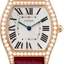 Cartier Tortue Roségold Silber