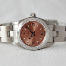 Rolex Kronométer 26mm Automata 1999 használt Oyster Perpetual (Submodel) Pink
