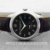 Baume & Mercier Clifton Steel 41mm Black Arabic numerals
