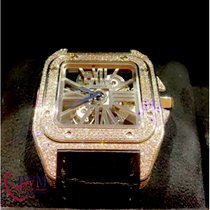 Cartier Palladium Cuerda manual usados Santos 100