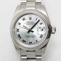 롤렉스 여성용 레이디-데이트저스트 26mm 자동 중고시계 시계 및 정품 박스 2001