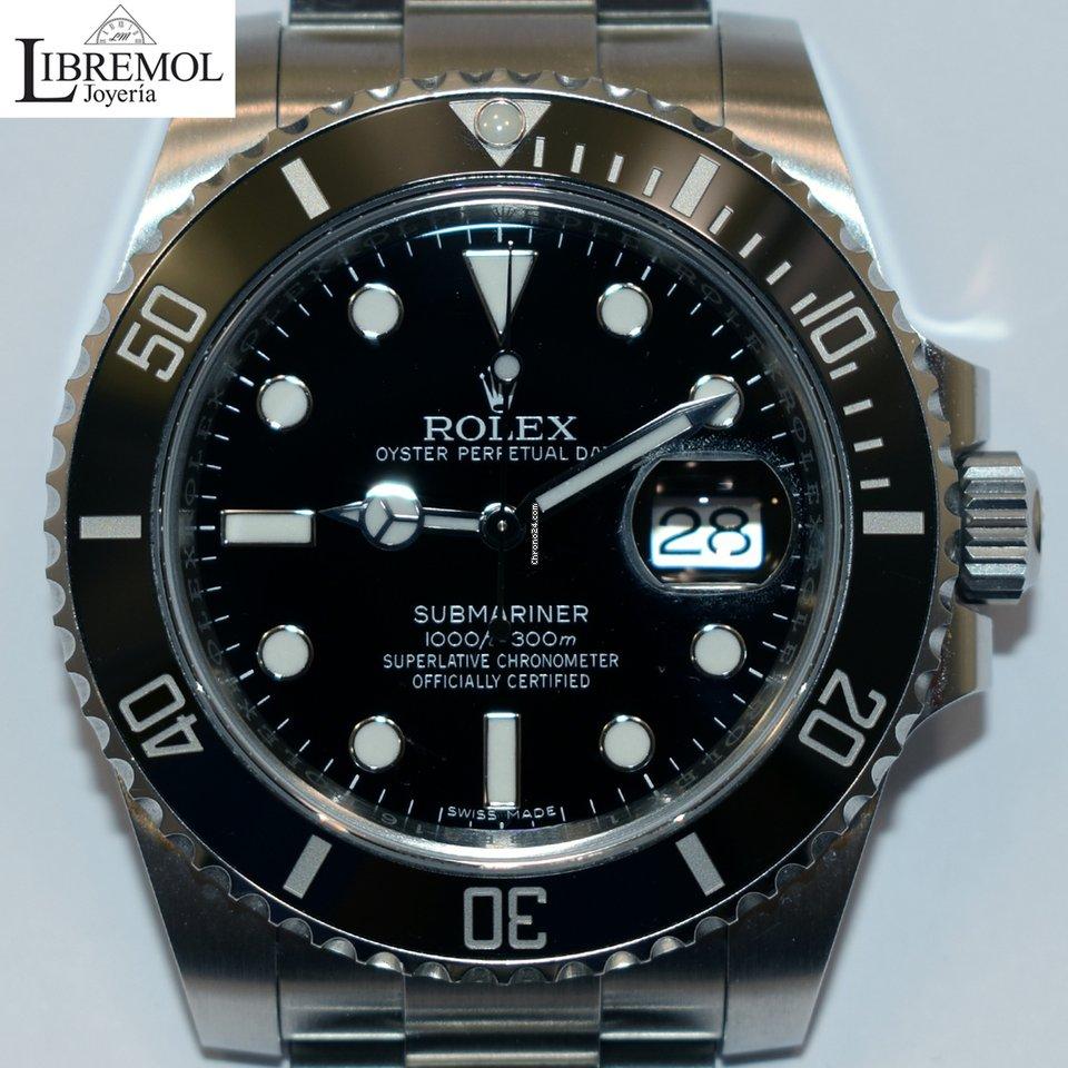 dad37f7e699d Rolex Submariner Date Ceramic