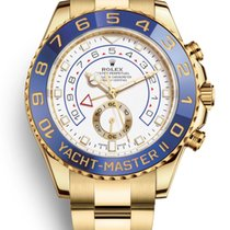 Rolex Yacht-Master II Yellow gold 44mm White No numerals United States of America, New Jersey, Woodbridge