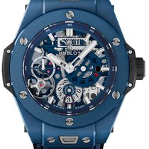 Hublot Big Bang Meca-10 Cerámica 45mm Transparente