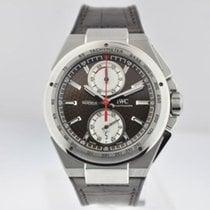 IWC Ingenieur Chronograph Acero 45mm Marrón Sin cifras