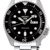 Seiko 5 Sports Steel 42.5mm Black