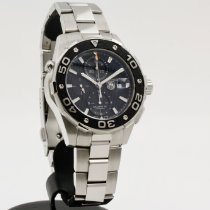 TAG Heuer Aquaracer 500M Steel 44mm Black No numerals