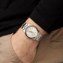 Rolex Air King Precision Stahl 36mm Weiß Römisch