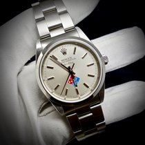 "Rolex Air King ""Domino's Pizza logo ref. 14000M scatola e..."