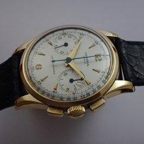 Universal Genève Vintage Uni-Compax 285 Chronograph 18k Gold 50's