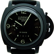 Panerai Luminor 1950 10 Days GMT pre-owned 44mm Ceramic